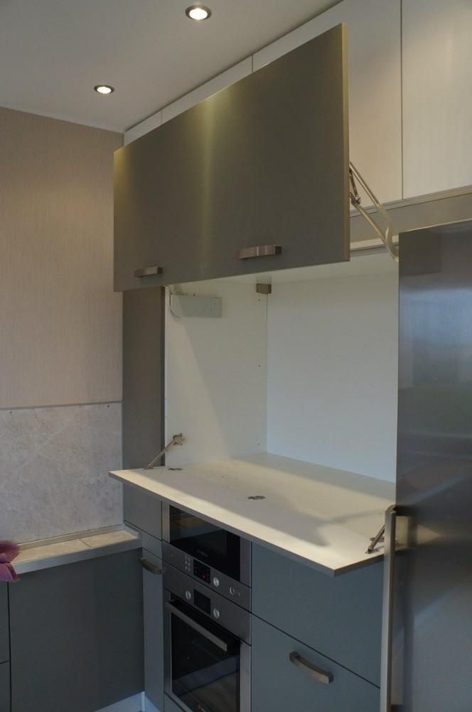 Белый кухонный гарнитур-Кухня из ЛДСП «Модель 196»-фото4
