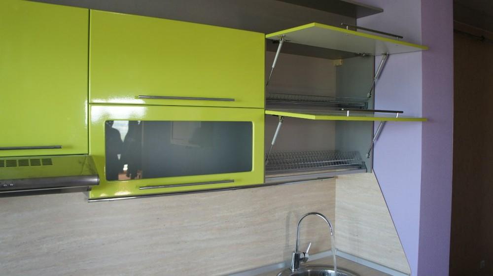 Встроенная кухня-Кухня МДФ в ПВХ «Модель 197»-фото3