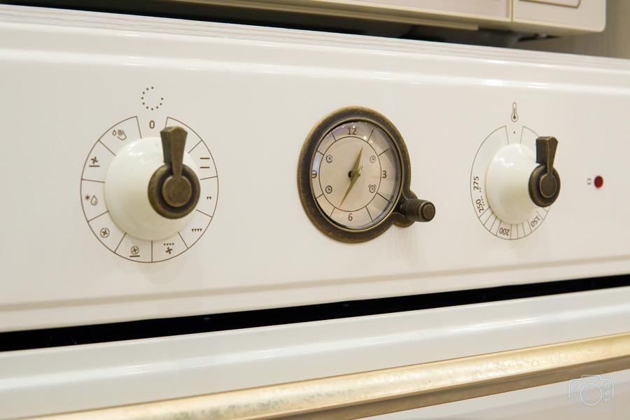 Бежевые кухни-Кухня из шпона «Модель 8»-фото9