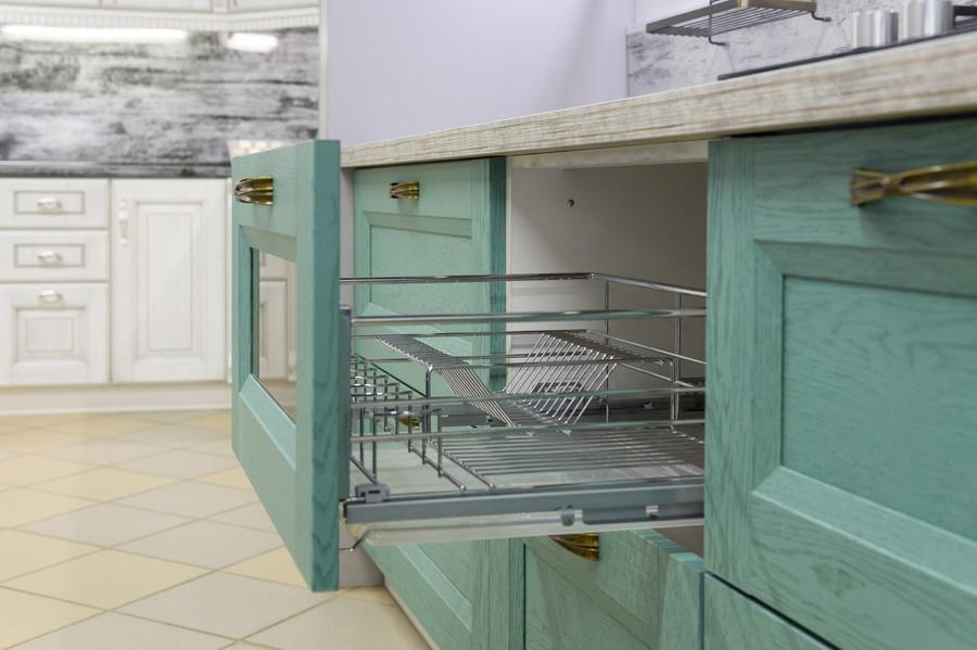 Встроенная кухня-Кухня из массива «Модель 46»-фото5