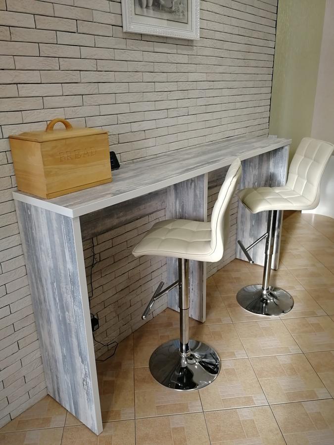 Комбинированные кухни-Кухня МДФ в ПВХ «Модель 27»-фото4