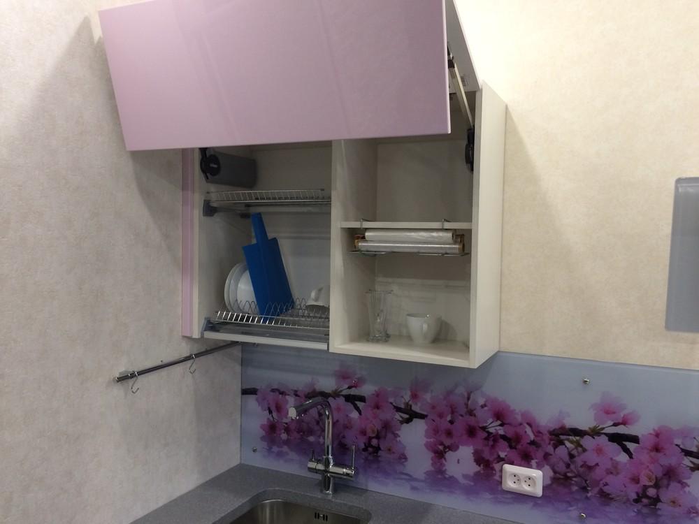 Акриловые кухни-Кухня из пластика «Модель 110»-фото11
