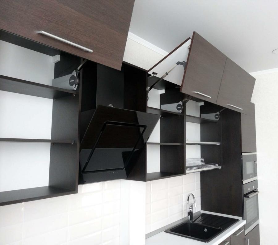 Встроенная кухня-Кухня из пластика «Модель 188»-фото3
