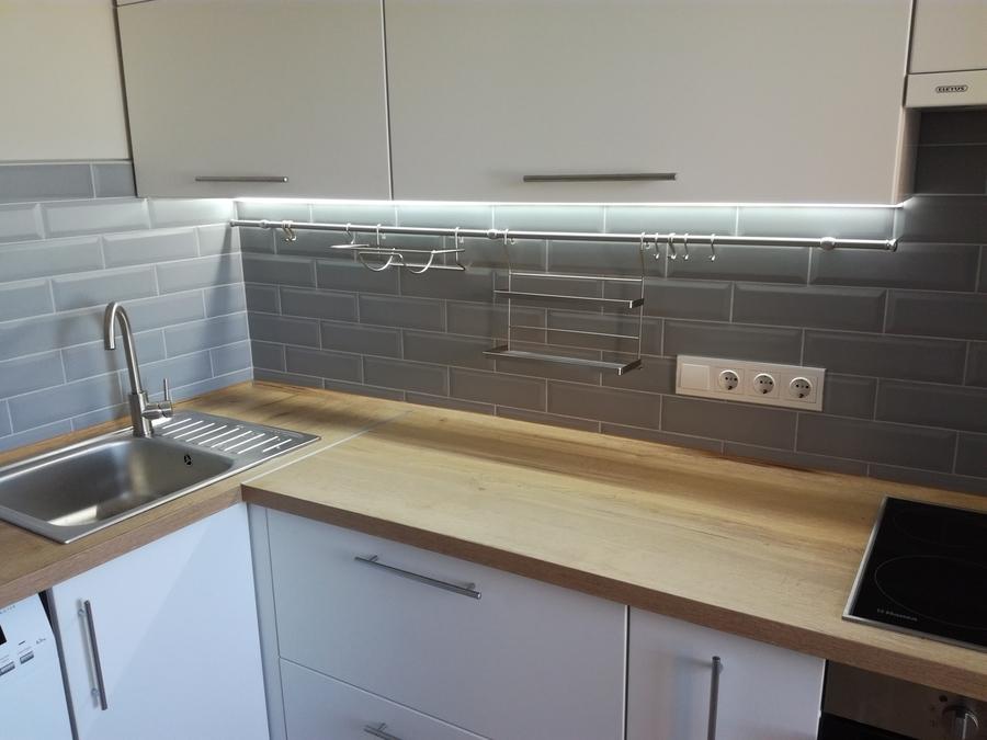 Белый кухонный гарнитур-Кухня МДФ в ПВХ «Модель 122»-фото5