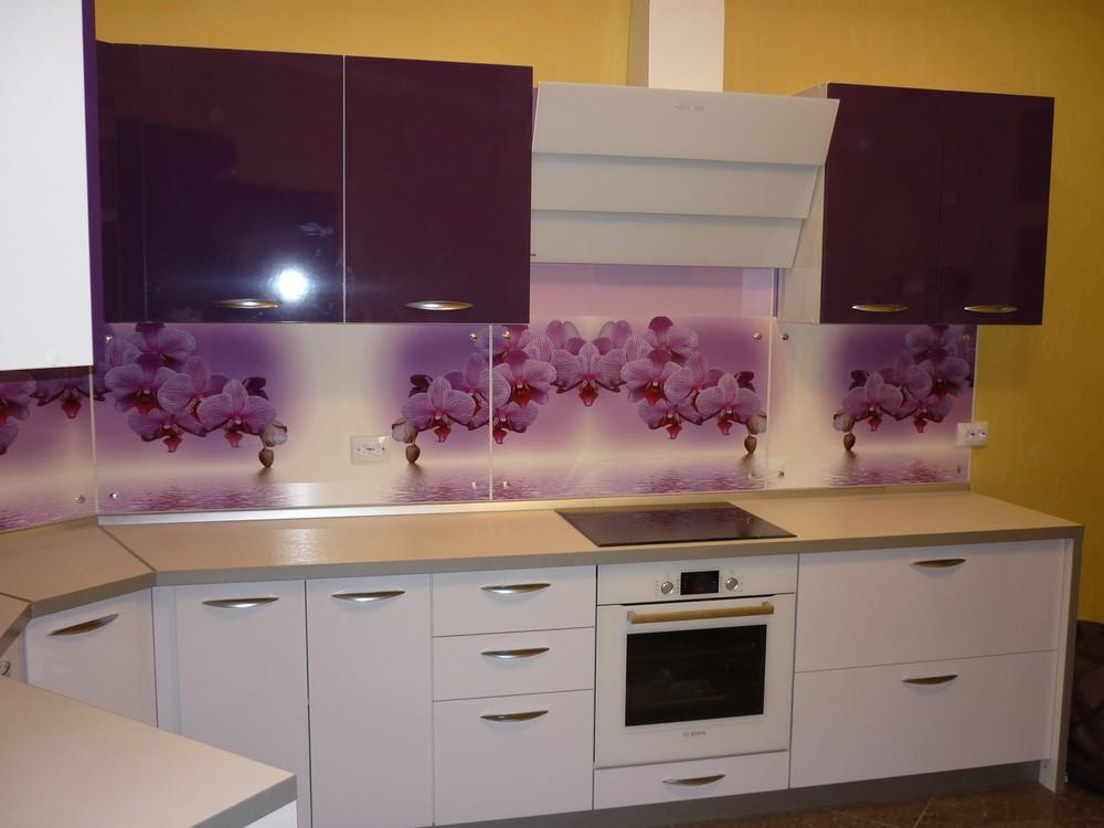 Акриловые кухни-Кухня из пластика «Модель 207»-фото4