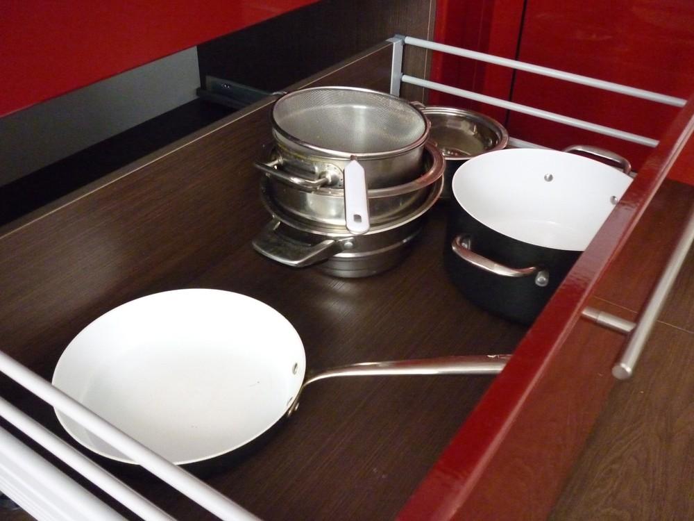 Встроенная кухня-Кухня МДФ в ПВХ «Модель 264»-фото5