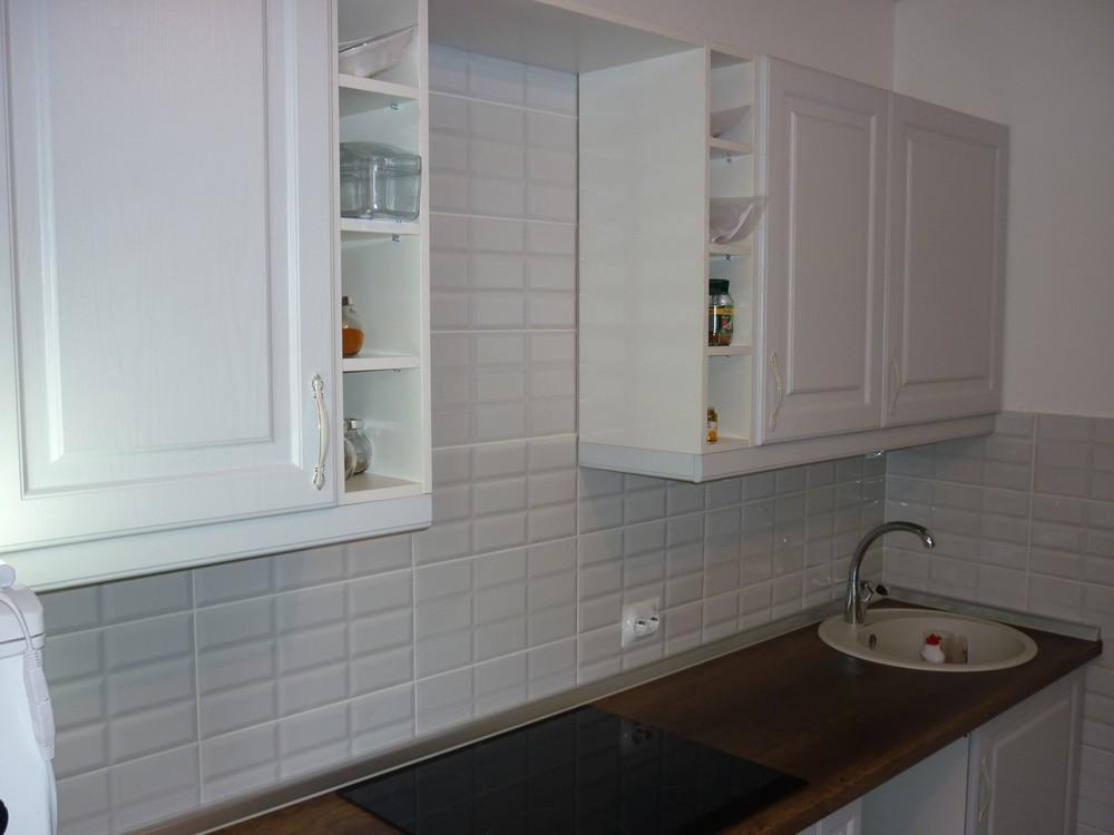 Белый кухонный гарнитур-Кухня МДФ в ПВХ «Модель 235»-фото3