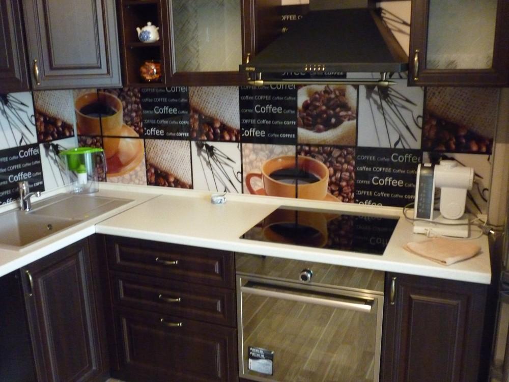 Встроенная кухня-Кухня МДФ в ПВХ «Модель 227»-фото3