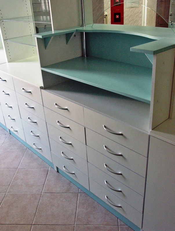 Торговая мебель-Мебель для аптеки «Модель 187»-фото2