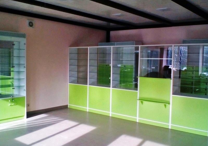 Аптека-Мебель для аптеки «Модель 183»-фото3