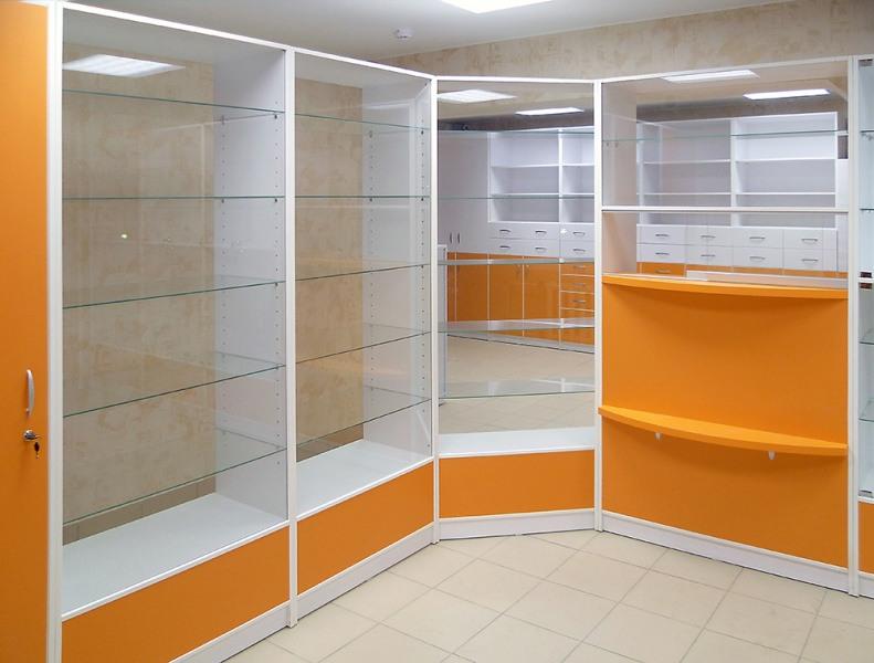 Аптека-Мебель для аптеки «Модель 195»-фото1