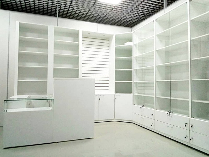 Торговая мебель-Мебель для магазина «Модель 45»-фото1