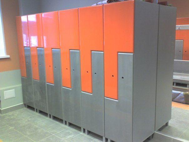 Торговая мебель-Шкафчики для раздевалки «Модель 170»-фото5
