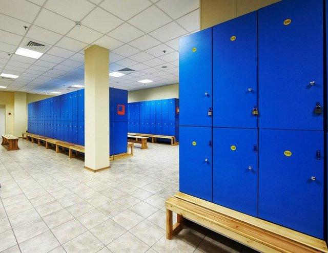Торговая мебель-Шкафчики для раздевалки «Модель 169»-фото3