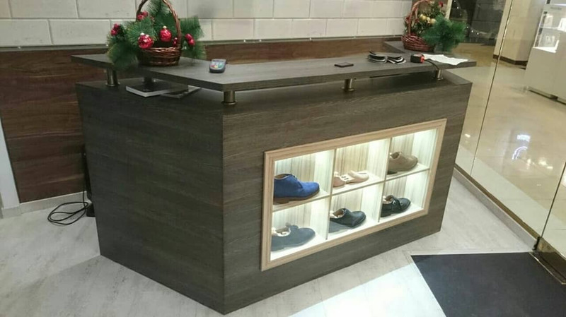 Торговая мебель-Мебель для магазина «Модель 40»-фото1