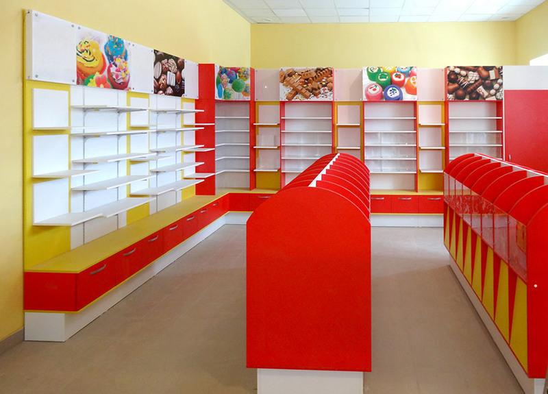 Торговая мебель-Мебель для магазина «Модель 23»-фото1