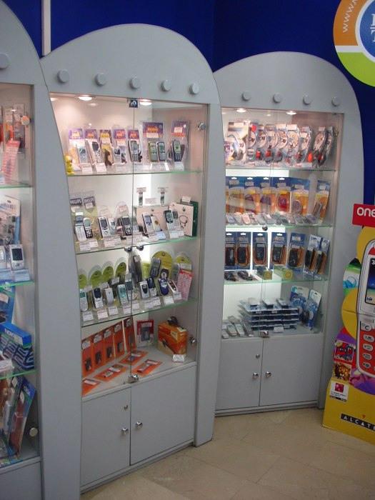 Магазин телефонов-Мебель для магазина «Модель 80»-фото2