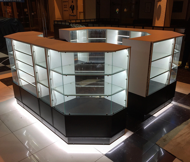 Торговая мебель-Торговый островок «Модель 264»-фото2