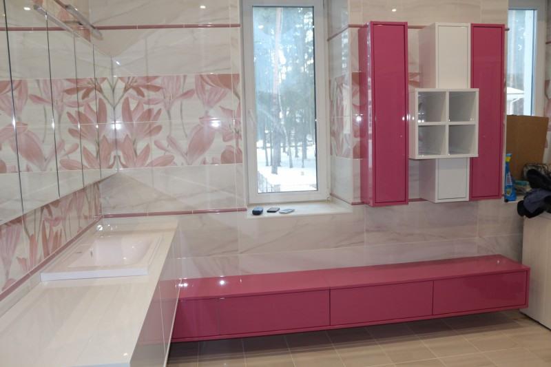 Мебель для ванной комнаты-Мебель для ванной «Модель 84»-фото3