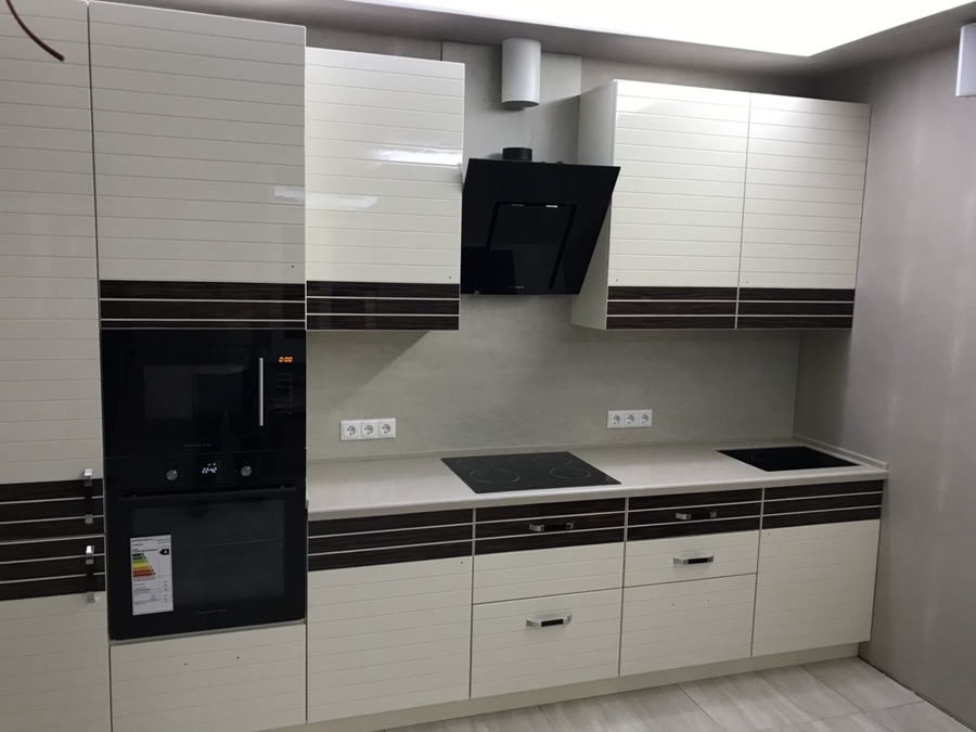 Белый кухонный гарнитур-Кухня «Модель 477»-фото2
