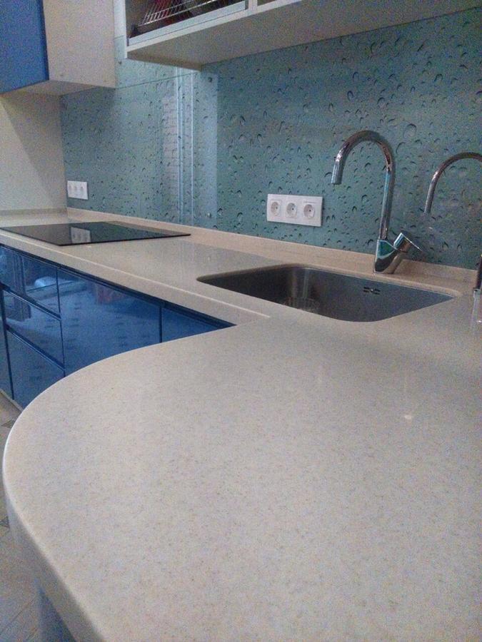 Глянцевые кухни-Кухня МДФ в эмали «Модель 428»-фото8