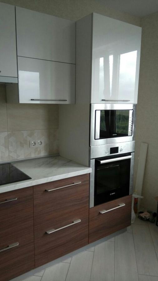 Акриловые кухни-Кухня из акрила «Модель 88»-фото2