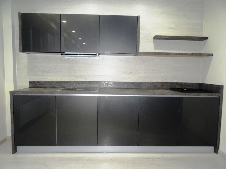 Встроенная кухня-Кухня «Модель 517»-фото2