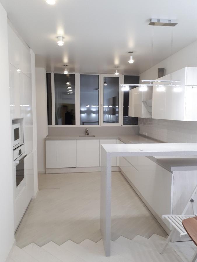 Белый кухонный гарнитур-Кухня «Модель 501»-фото1