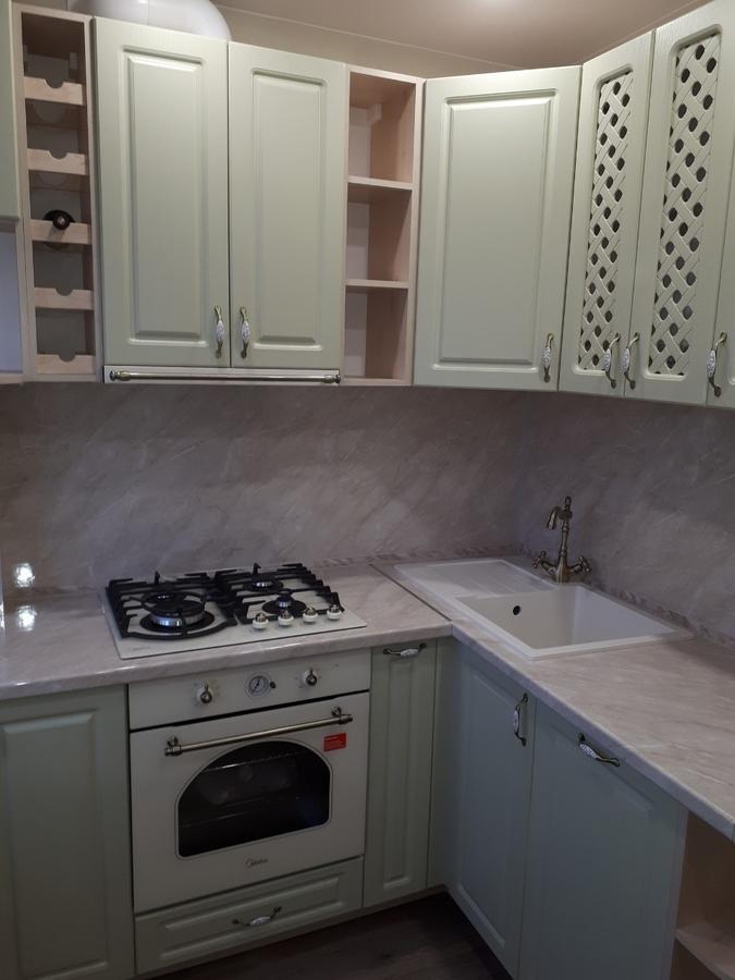 Встроенная кухня-Кухня «Модель 498»-фото1