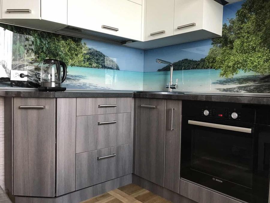 Белый кухонный гарнитур-Кухня из ЛДСП «Модель 89»-фото6