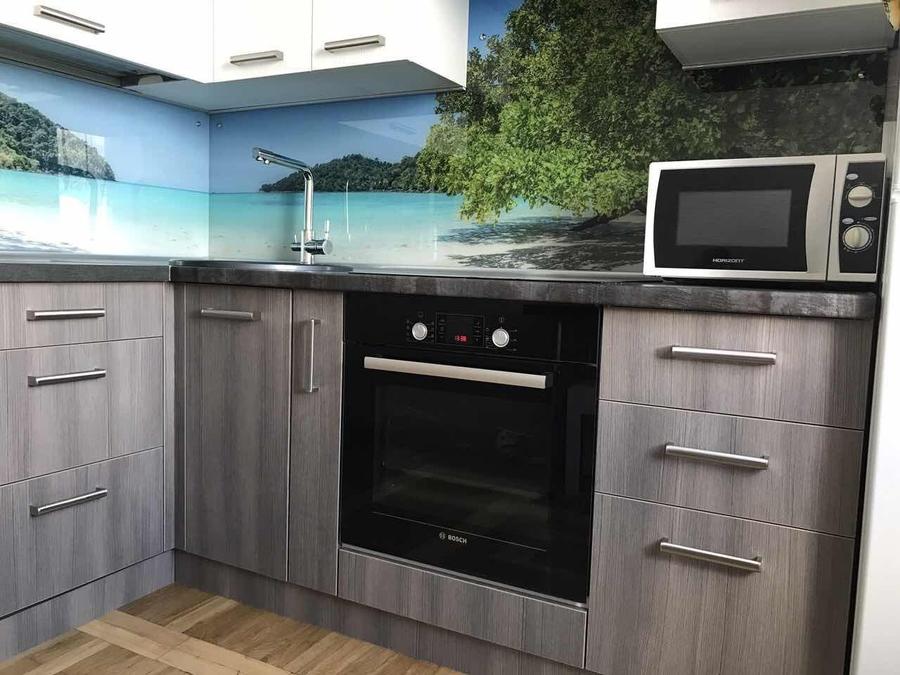 Белый кухонный гарнитур-Кухня из ЛДСП «Модель 89»-фото5