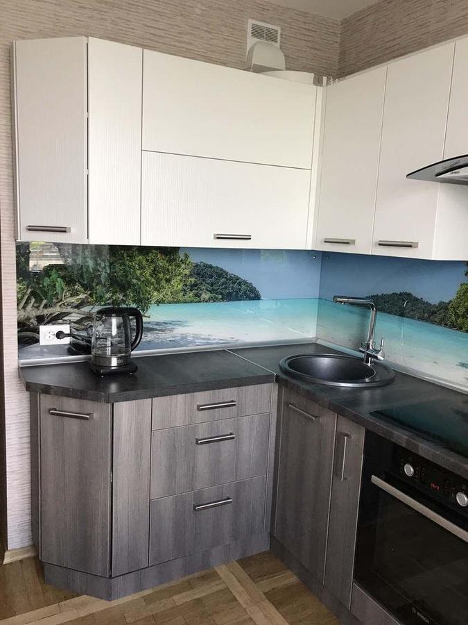 Белый кухонный гарнитур-Кухня из ЛДСП «Модель 89»-фото3