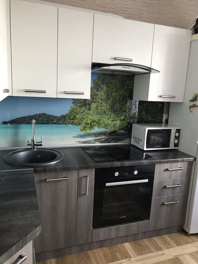 Белый кухонный гарнитур-Кухня из ЛДСП «Модель 89»-фото2