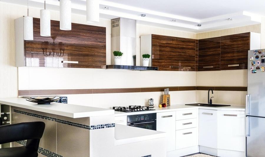 Акриловые кухни-Кухня из акрила «Модель 407»-фото4