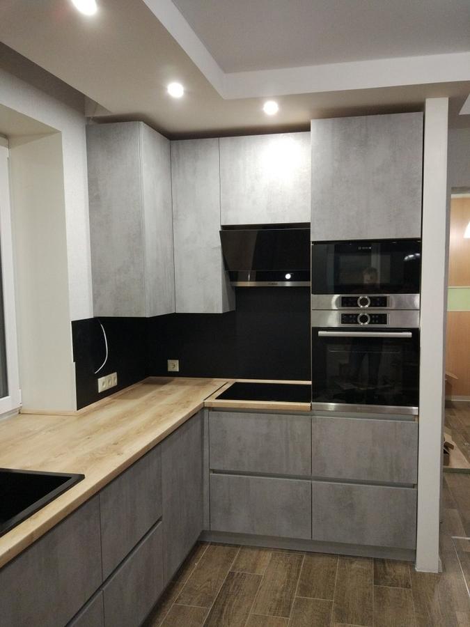 Встроенная кухня-Кухня из пластика «Модель 450»-фото2