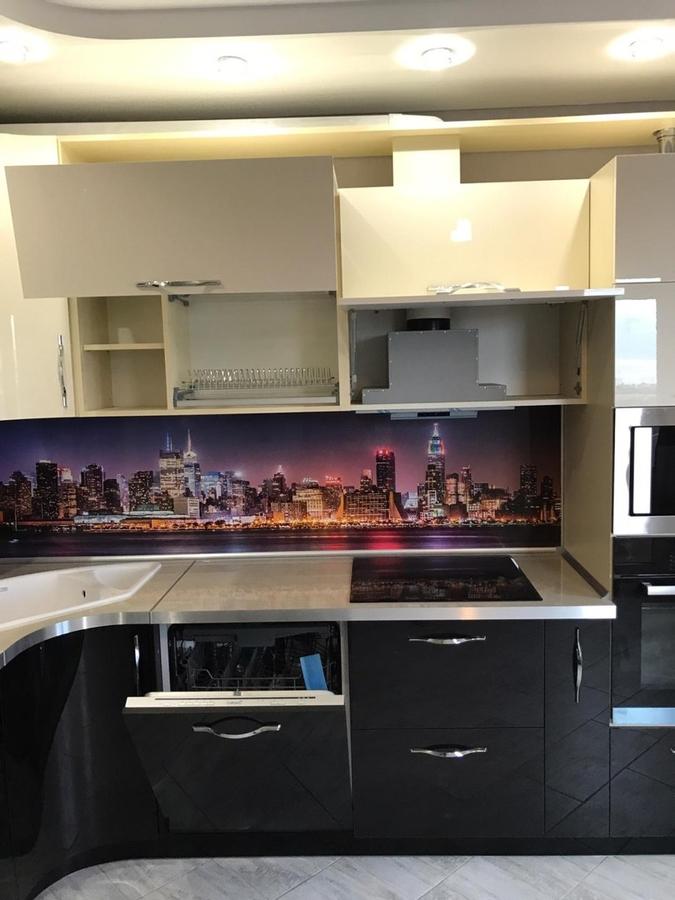Глянцевые кухни-Кухня из пластика «Модель 398»-фото6