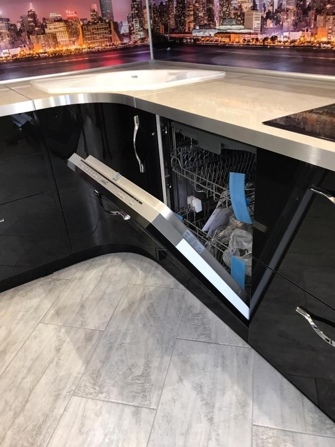 Глянцевые кухни-Кухня из пластика «Модель 398»-фото8