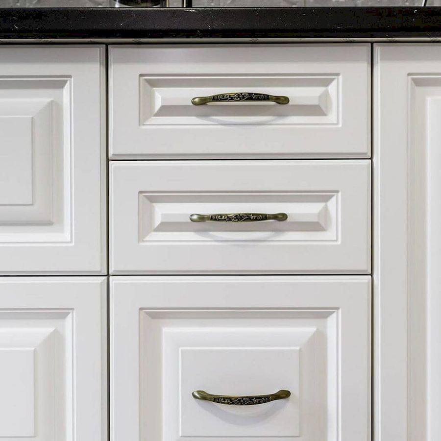 Белый кухонный гарнитур-Кухня МДФ в эмали «Модель 641»-фото6