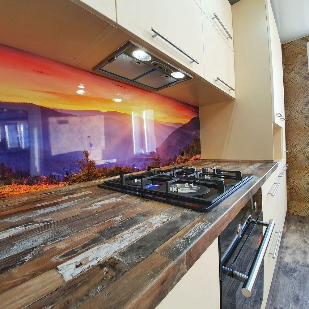 Белый кухонный гарнитур-Кухня МДФ в эмали «Модель 542»-фото7