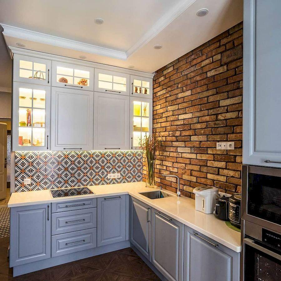Классические кухни-Кухня МДФ в эмали «Модель 642»-фото1