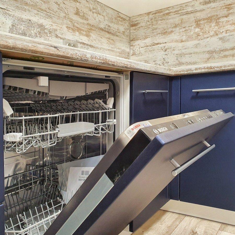 Белый кухонный гарнитур-Кухня МДФ в ПВХ «Модель 555»-фото5
