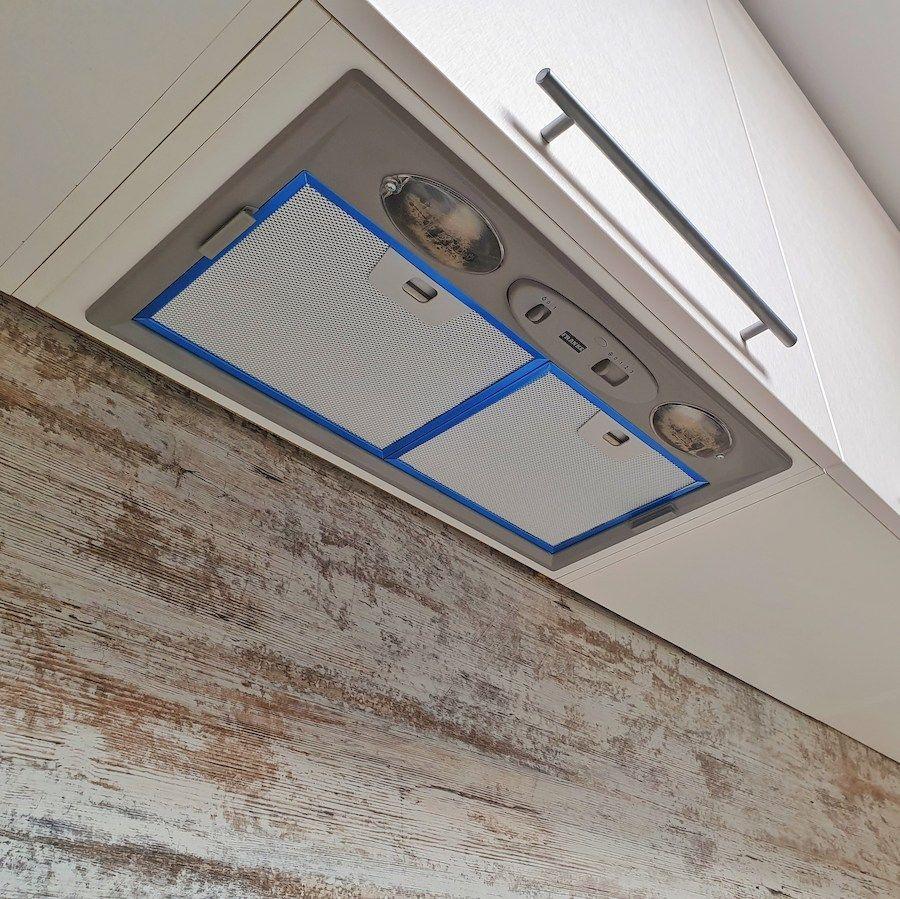 Белый кухонный гарнитур-Кухня МДФ в ПВХ «Модель 555»-фото8