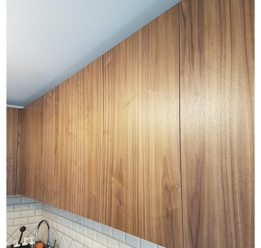 Купить зеленую кухню-Кухня МДФ в эмали «Модель 599»-фото4