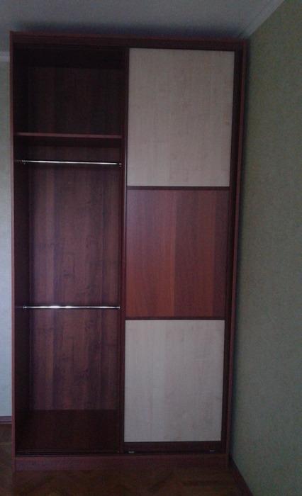 Двухдверный шкаф-купе-Шкаф-купе из ЛДСП «Модель 175»-фото3