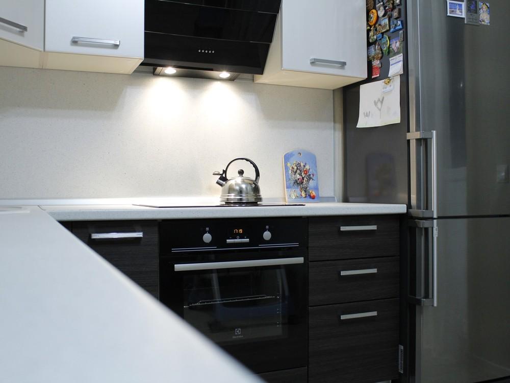 Встроенная кухня-Кухня из ЛДСП «Модель 186»-фото6