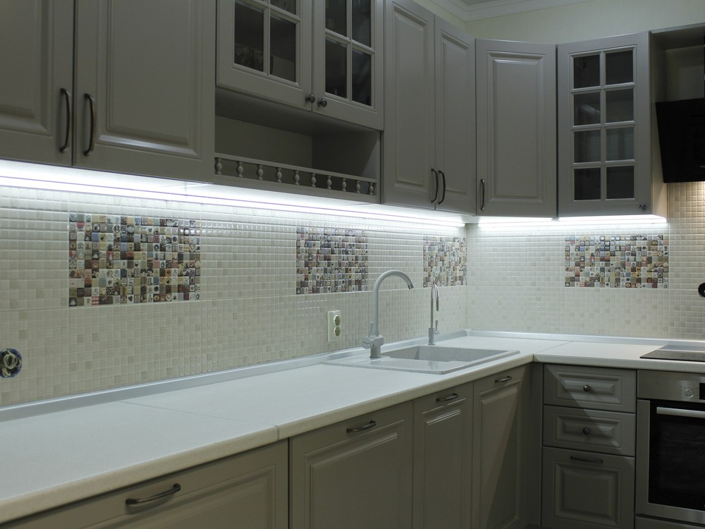 Встроенная кухня-Кухня из массива «Модель 157»-фото5