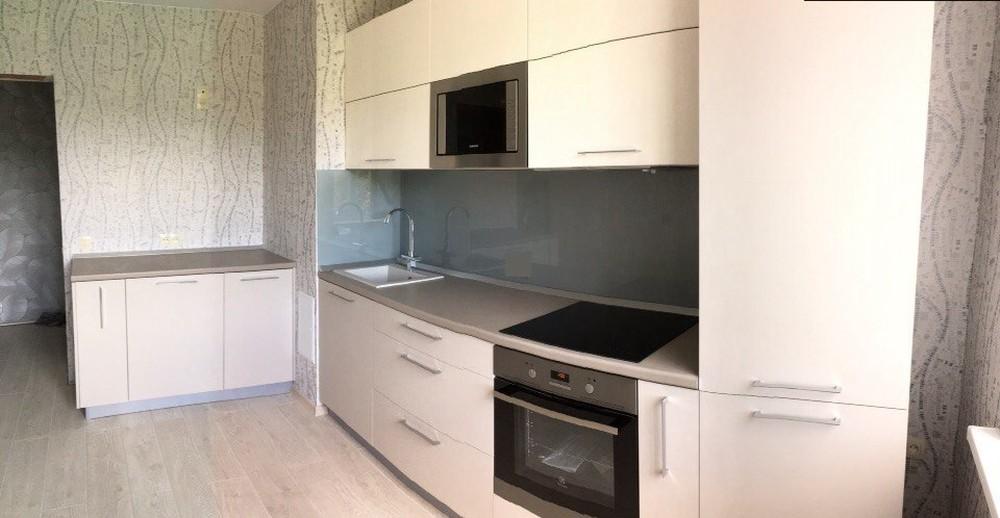 Белый кухонный гарнитур-Кухня МДФ в ПВХ «Модель 168»-фото8