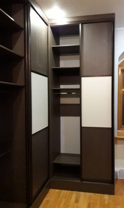 Встроенные шкафы-купе-Шкаф-купе из ЛДСП «Модель 86»-фото5