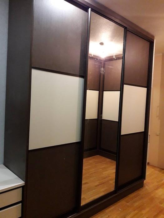 Встроенные шкафы-купе-Шкаф-купе из ЛДСП «Модель 86»-фото7