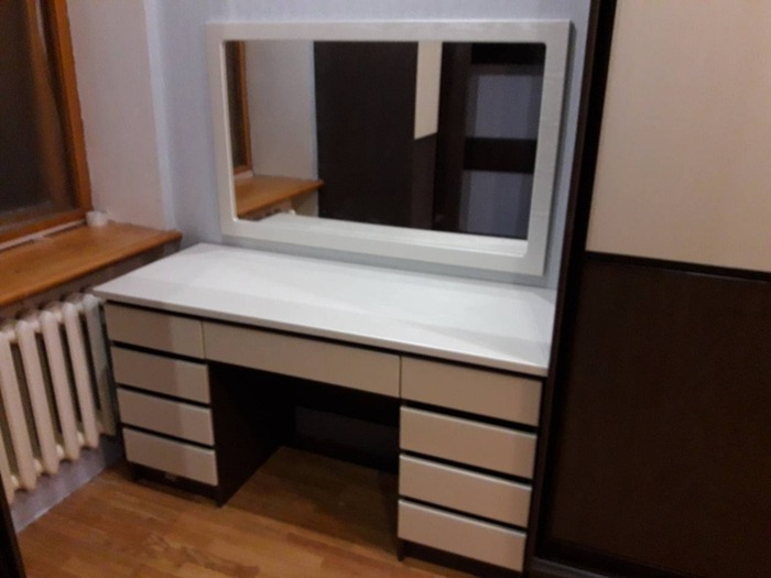 Встроенные шкафы-купе-Шкаф-купе из ЛДСП «Модель 86»-фото11